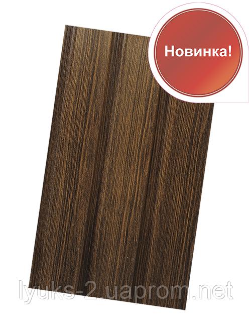 Софит ASKO (Польша) темный дуб перфорированный