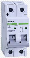 Автоматический выключатель на постоянный ток 2Р 2 Ампера