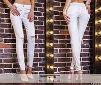 Женские брюки джинсовые