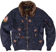 Куртка летная Injector Alpha Industries, США (синяя)