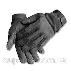 Тактические перчатки армейские черные (Mil-Tec) Германия, фото 3