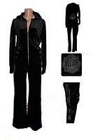 Женский велюровый костюм Ritafink размер 42
