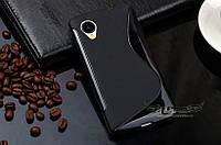 Силиконовый чехол Duotone для LG Google Nexus 5 чёрный, фото 1