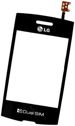 Сенсор LG P520 black, тач скрин для телефона смартфона