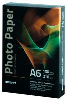 Фотобумага глянцевая Tecno (Value pack) А6 210г/м2 100 листов/упаковка