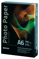Фотобумага глянцевая Tecno (Value pack) А6 210г/м2
