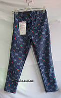 Штаны джинсы на девочку от 5-10 лет