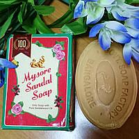 """Аюрведическое сандаловое мыло """"Майсор"""", 75 гр, производитель """"Karnataka Soaps"""""""