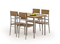 Столовый комплект Halmar Natan (стол + 4 стула)