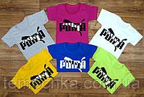 Супер яркие футболки Puma.