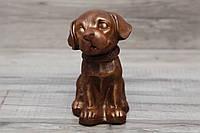 Шоколадная фигура Собачка. Подарок для жены