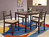 Столовый комплект Halmar New Starter (стол + 4 стула)
