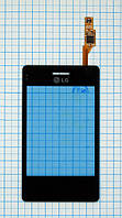 Тачскрин сенсорное стекло для LG T370 Cookie Smart black