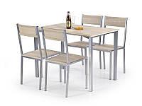 Столовый комплект Halmar Ralph (стол + 4 стула)