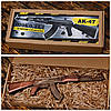 Шоколадный автомат АК-47 в подарок мужу