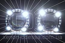 "Маска для ксеноновых линз 3.0"" со светодиодами CREE : Porsche Panamera LED CREE DRL, фото 3"