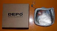 Фонарь указателя поворота правый Depo 431-1503R-UE-C Ford sierra 1987-1993
