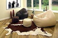 Стильные кресла мешки из экокожи