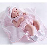 Кукла младенец девочка Nina, 43см, Berengue