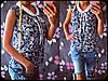 Блузка шифоновая с воротником