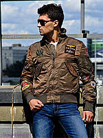 Куртка пилот CWU Pilot X Alpha Industries (коричневая)
