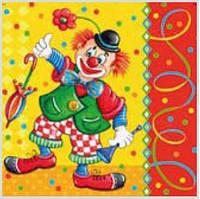 Салфетка Luxy весёлый клоун