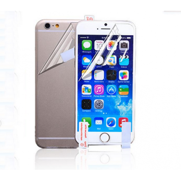 Комплект матовых пленок перед/зад для iPhone 6 (4.7