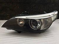 Фара левая ксенон адаптивная BMW 5 E60 E61 до рестайлинга