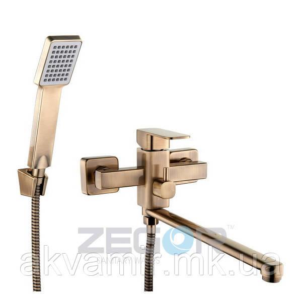 Смеситель для ванны Zegor LEB7-A123 T