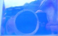 """Пленка для создания эффекта """" Битое стекло"""" Бриллиантово фиолетовая"""