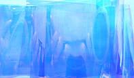 """Пленка для создания эффекта """" Битое стекло"""" Бриллиантово-голубая"""