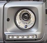 Вставки (очки) под передние фары Mercedes G-Сlass, фото 5