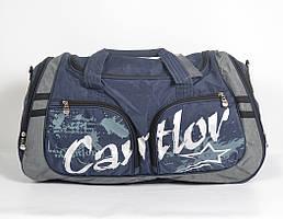 """Практична і стильна  спортивна   сумка """"Cantlor"""" синя"""