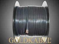 GoldKabel Speaker-Flex transparent/schwarz 2 х 4 мм2 акустический кабель в прозрачной и чёрной изоляции schwarz чёрный