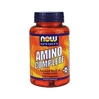 Аминокомплекс / Amino Complete (аминокислотный комплекс: метионин, тирозин, лецитин, аргинин...), 120 капсул