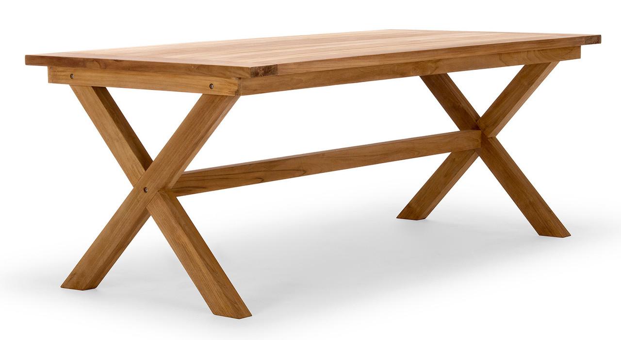 Стол обеденный деревянный  034