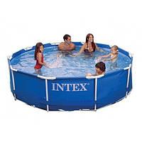 Каркасный бассейн Intex 28212 (56996) размер 366 x 76 см насос-фильтр
