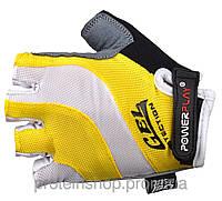 Велоперчатки PowerPlay 5034 Желтый, м