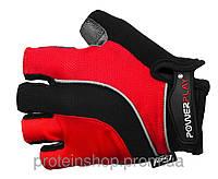 Велоперчатки PowerPlay 5037 красный, м
