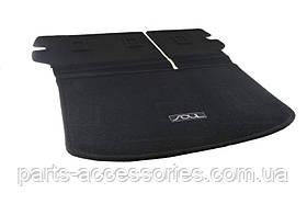 Kia Soul 2014-17 складной коврик в багажник велюровый новый оригинал