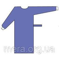 Халат хирургический SteriBata, стерильный, рукав с манжетой, фото 3