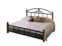 Кровать Кассандра 140х200 деревянные ножки