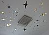 Дзеркальні зірки наклейки 8*5см пластикові, 20шт набір, фото 6