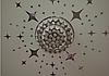 Дзеркальні зірки наклейки 8*5см пластикові, 20шт набір, фото 4