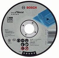 Отрезной круг Bosch Best по металлу 125x2,5, прямой, 2608603526