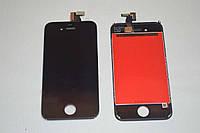 Оригинальный дисплей (модуль) + тачскрин (сенсор) для Apple iPhone 4s (черный цвет)