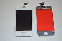 Оригинальный дисплей (модуль) + тачскрин (сенсор) для Apple iPhone 4s (белый цвет)
