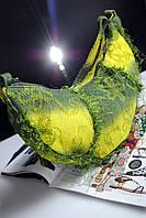 Желтая джинсовая сумка