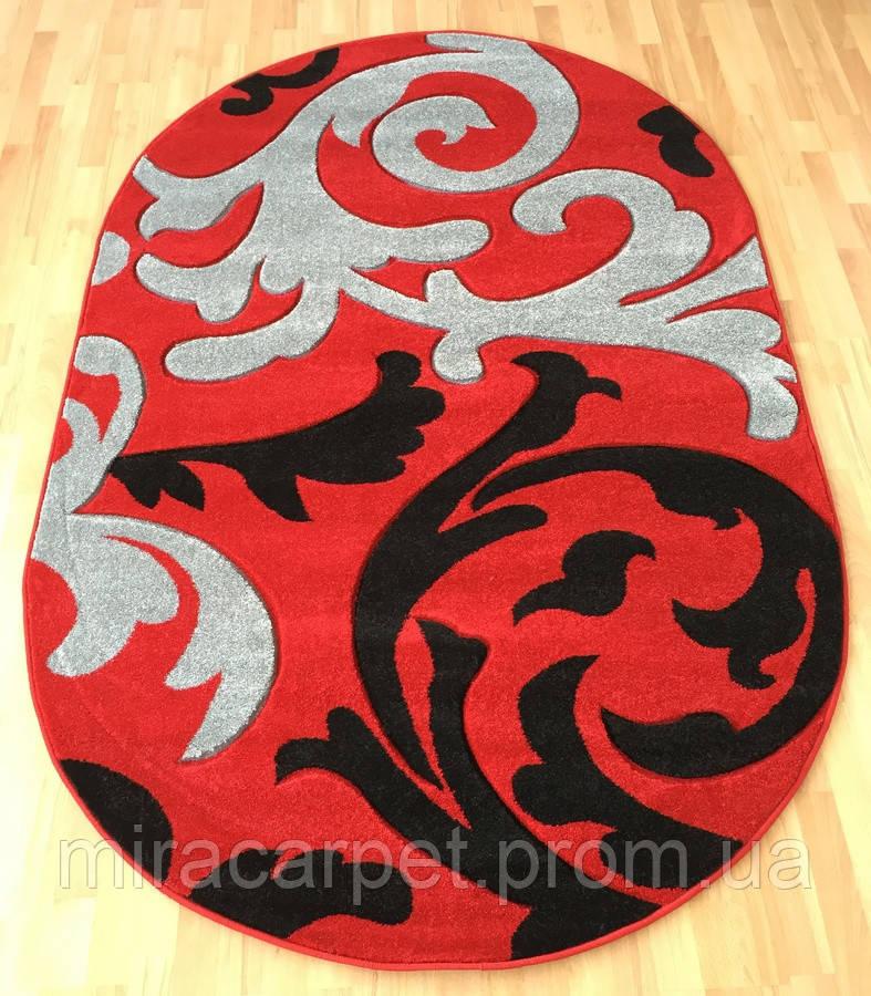 Высококачественный красный ковер для дома