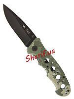 Нож складной  MIL-TEC One-hand Knife Perforated Grip ACU 15317170